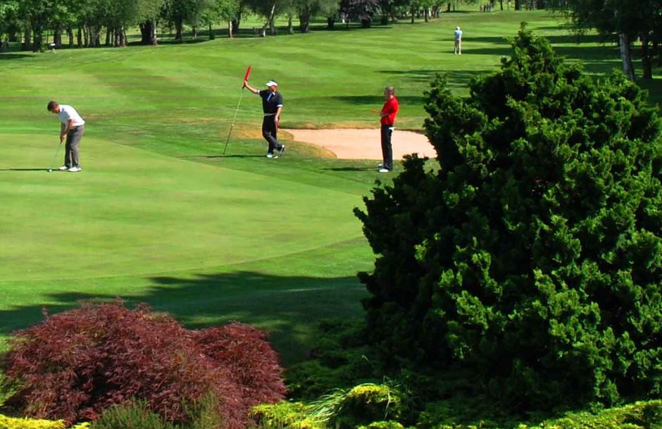 All year greens Coventry Golf Club